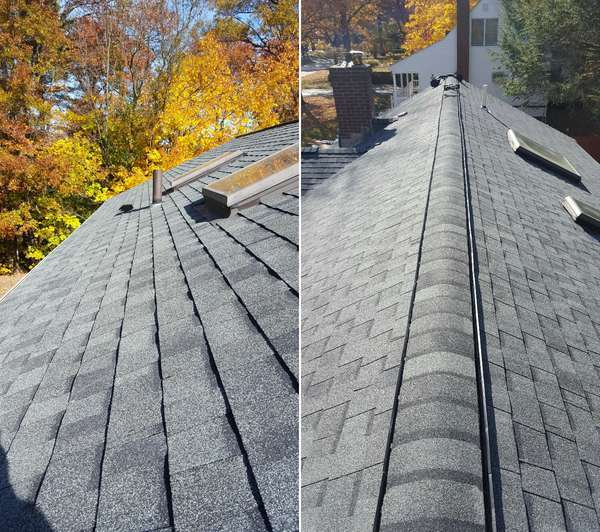 Architectural Shingle Roof in Hudson, MA (1)