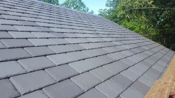 R.J. Talbot Roofing and Contracting, Certainteed Symphony Synthetic Slate in Westford, MA (1)