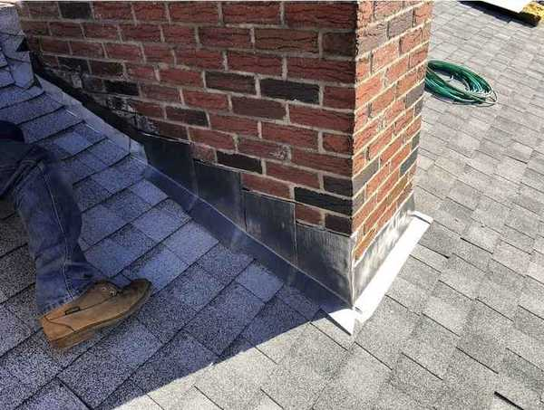 New Chimney Flashing in Dracut, MA (1)
